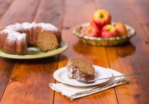Apple butter spice cake, compliments of Shenandoah Gateway Farm, Buchanan, Va.