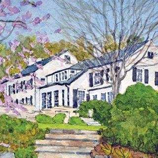 Historic  Garden Week  in Watercolors