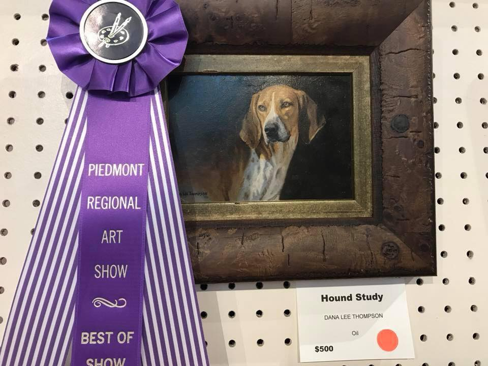"Photo: ""Hound Study"" by Dana Thompson, last year's Best in Show winner."