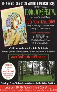 Thinking of going to DC's Wine Country Food and Wine Festival? I have a special offer just for you.