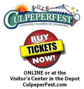 Culpeper Festival — Thursday June 7th