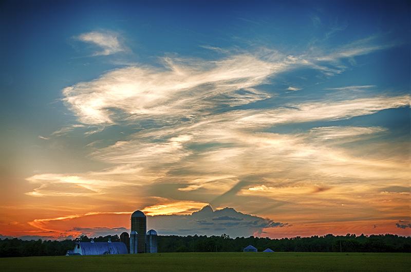 Piedmont Sunsets