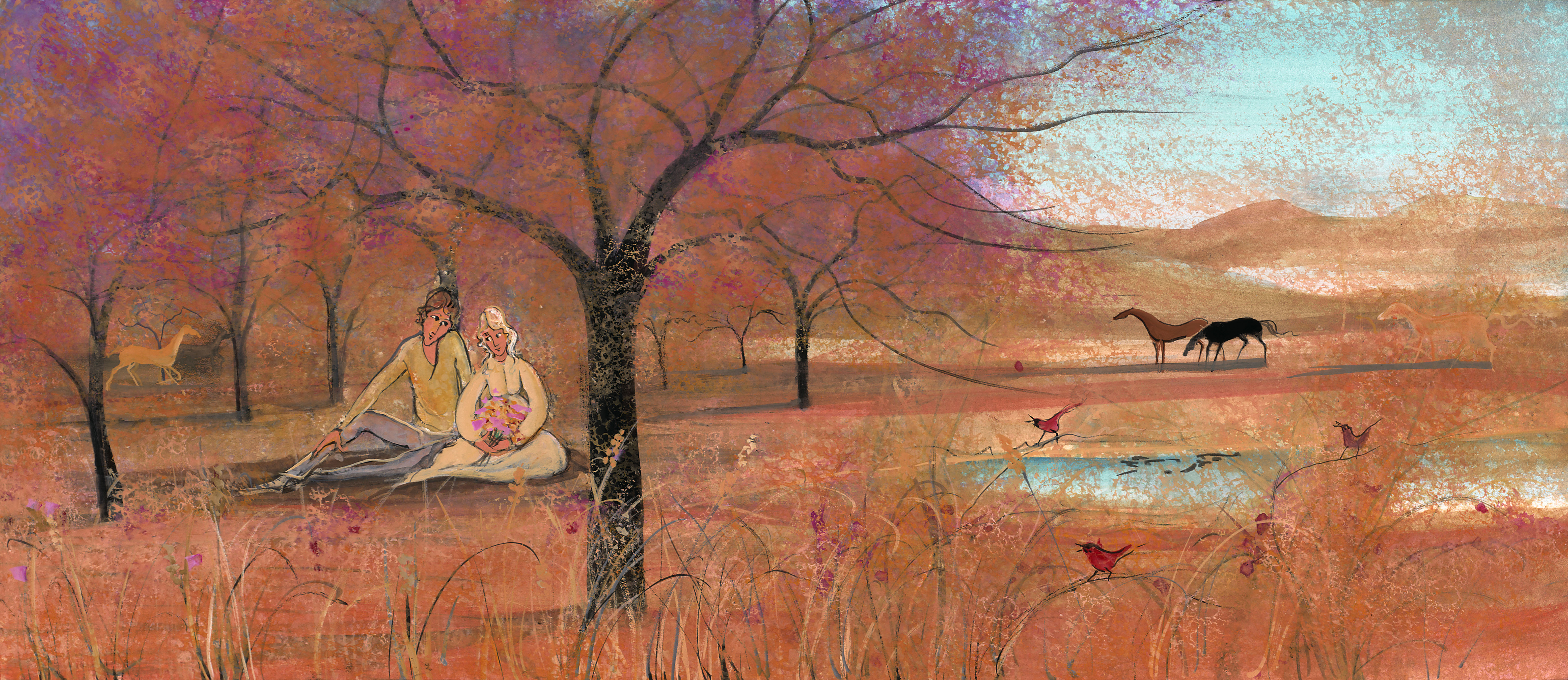 P. Buckley Moss to Release Virginia is for Lovers Painting at Framecraft