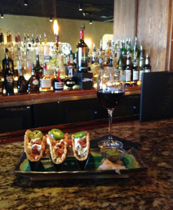 Ahi Tuna Tacos at Bonefish Grill