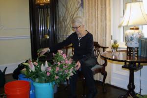 Piedmont Virginian writer prepares exquisite floral arrangements for Valentine's Dinner at Airlie