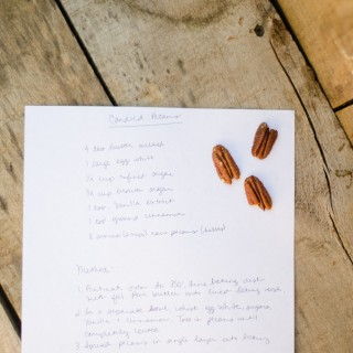 Autumn Cooking | Cinnamon Candied Pecans