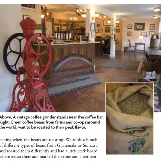 Made in the Piedmont | Central Coffee Roasters, Valley Green Naturals, and E.A. Clore Sons Furniture