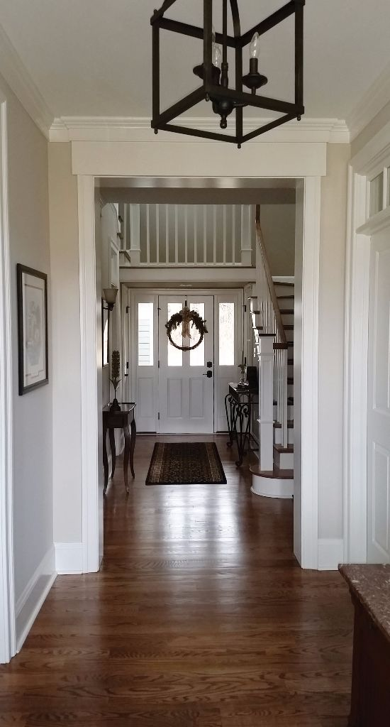 "The ""dog trot,"" a treasured memory from Cindy's grandmother's turn-of-the-century home, features an open hallway from the front of the house to the rear, enabling the free flow of cooling breezes—and dogs—through the home."