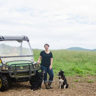 In The Field With Farmher Molly