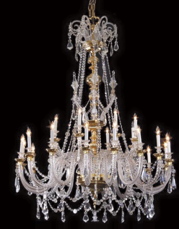 Acquisition Number 2 -- Antique Spanish Crystal chandelier. It's 70 inches tall! Will be a gorgeous compliment to the Murano sconces in the remaking of a formal parlor from the previous billiard room.