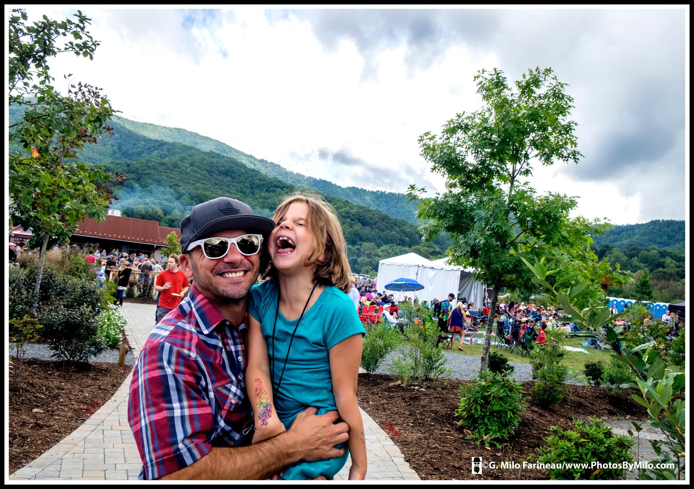 Founder Justin Billcheck and his daughter, photo courtesy of G. Milo Farineau Photography