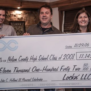 Lockn' Raises $30,000 for Local Charities