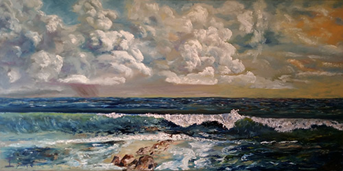 """""""Pacific Shoal"""" by James Lyman"""