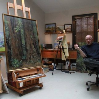 Artist in the Park: Kevin H. Adams' Residency in Shenandoah National Park