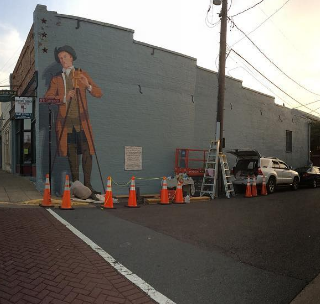 Behind the Scenes: Tom Mullany's George Washington Mural