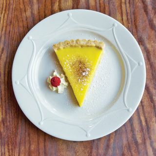 French Hound Brasserie's Lemon Tart