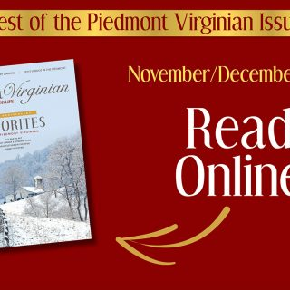 Welcome to a Special Issue of The Piedmont Virginian