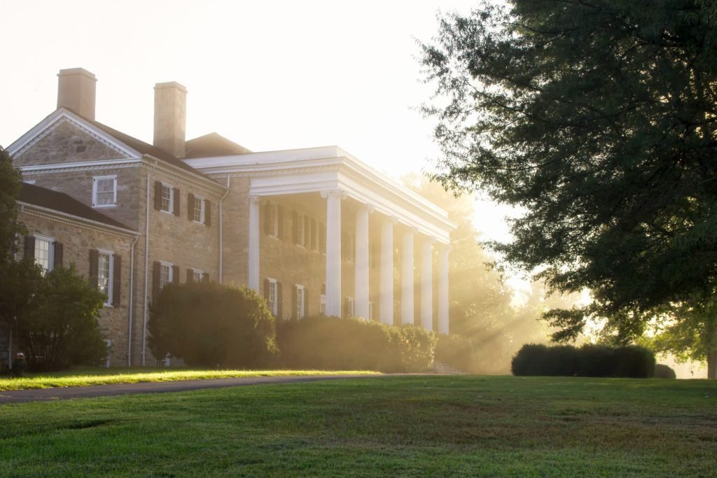 explore history of founding father Edmund Randolph at historic carter hall