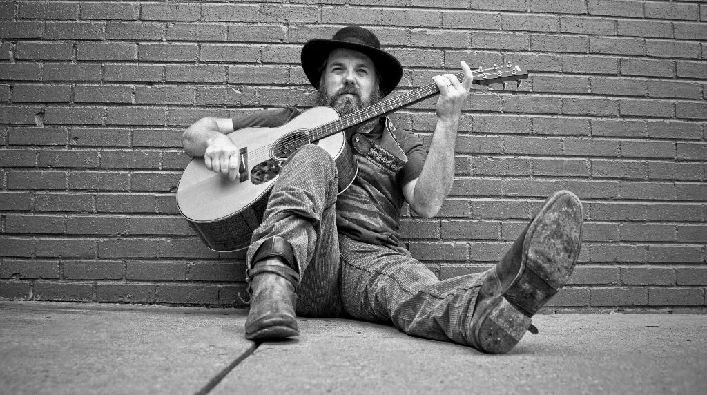 marc broussard in charlottesville with his guitar and rhythm and blues
