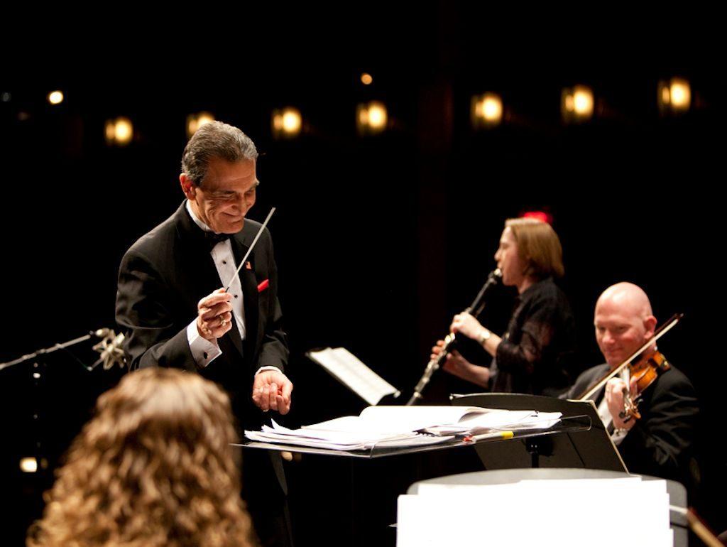 Valentines day festivities American Festival Pops Orchestra in Manassas at Hylton