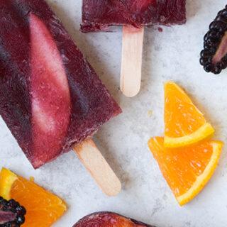 Summer Treat: Sangria Popsicles